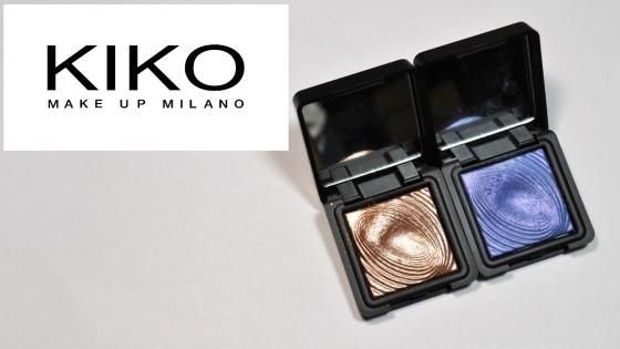 kiko water eyeshadow review