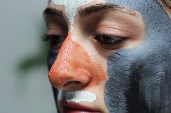 loreal-exfoliate-refine-clay-mask-dried