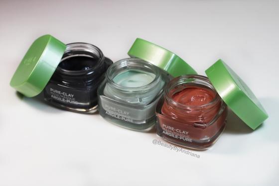 loreal-paris-pure-clay-masks